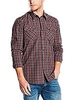 Pepe Jeans London Camisa Hombre Alexei (Gris)
