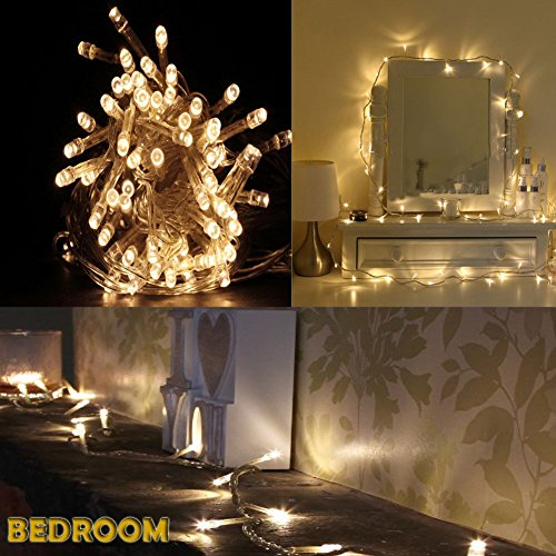 Led String Lights. Cool Extra Bright Cool White Led Battery String ...