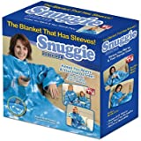Snuggie Fleece Blanket with Sleeves, Clouds
