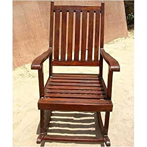 Amazon.com - Solid Wood Classic Shaker Style Rocker Rocking Chair -