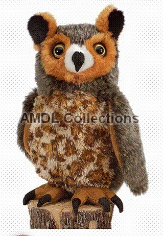 where can i buy wildlife domestic animals great horned owl