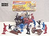 54mm American Revolution Figure Playset (50pcs) (Bagged) Playsets