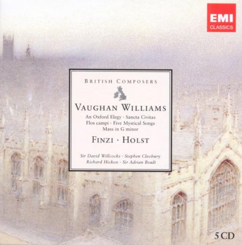 British Composers: Vaughan Williams, Finzi & Holst by Vaughan Williams, Finzi, Holst, Sir David Willcock and Stephen Cleobury