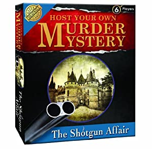 Cheatwell The Shotgun Affair - Host Your Own Murder Mystery Evening