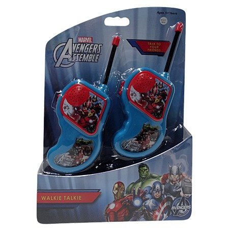 Marvel Avengers Assemble Walkie Talkie