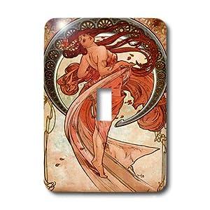 Florene - Art Deco And Art Nouveau - Print of Muchas Dance