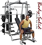Body Solid Series 7 GS348P4 Smith Machine Gym with Linear Bearings
