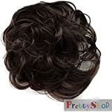 PRETTYSHOP Scrunchie Scrunchy Bun Up Do Hair piece Hair Ribbon Ponytail Extensions Wavy Curly or Messy Verious Colors