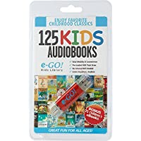 e-Go Portable Library 125 Children's AudioBooks + 75 eBooks