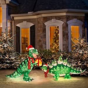 Pre lit animated lighted shimmering for Pre lit outdoor decorations