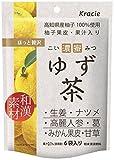 クラシエフーズ 濃蜜ゆず茶 6袋入×5個
