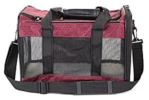 Sherpa To Go Pet Carrier Raspberry Medium