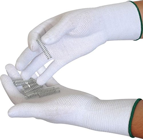 pvc-dotted-cotton-lycra-gloves-white-with-blue-edging-trim-size-9