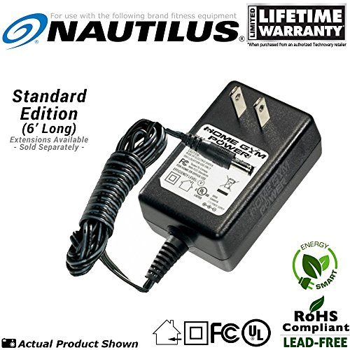 Nautilus R514, R514c, U514 Exercise Bike & E514 Elliptical Power Supply / AC Adaptor