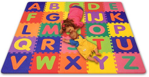 Picture of Alessco Interlocking Foam Alphabet Mat Set (B003BAJGTC) (Puzzle Play Mats)