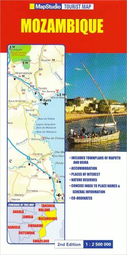 Tourist Map: Mozambique