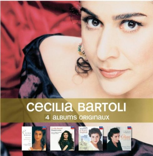 4 Originals - Cecilia Bartoli - cofre de  4 CD
