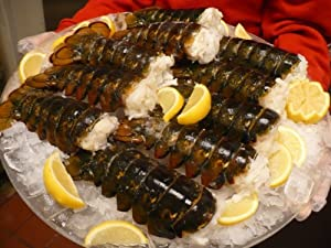 Wild Caught Five 7-8 Oz Canadian Cold Water Lobster Tails
