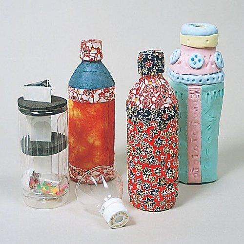自由研究 夏休みの宿題 工作 手づくりキット リサイクル教材 ペットボトル万華鏡づくりキット 1個