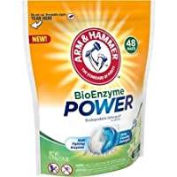 Arm & Hammer BioEnzyme Power Botanical Springs Biodegradable Detergent Paks, 48 count (Pack of 2)