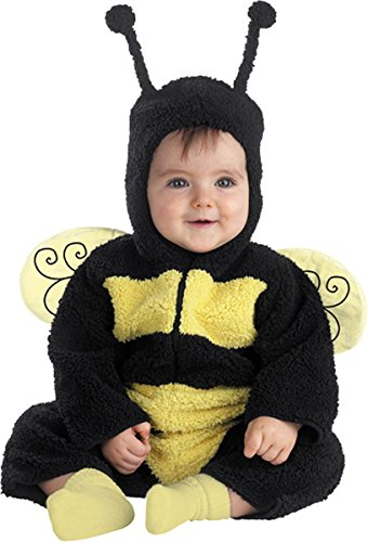 Costumes For All Occasions Dg4549W Buzzy Bumble Bee 12 18 Mo