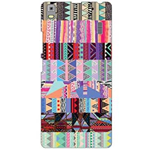 Printland Abstract Phone Cover For Lenovo A7000 PA030023IN