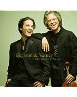 Insolite : L'opéra en duo, harpe & alto. Ceysson & Verney.