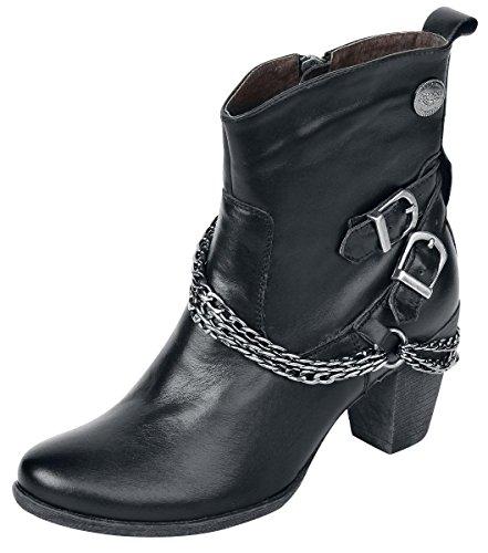 Rock Rebel by EMP Chain Boot Anfibi/Stivali nero EU37