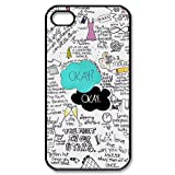 Custom Your Own Okay The Fault in Our Stars- John Green iPhone 4/4S Case , personalised Okay The Fault in Our Stars Iphone 4 Cover