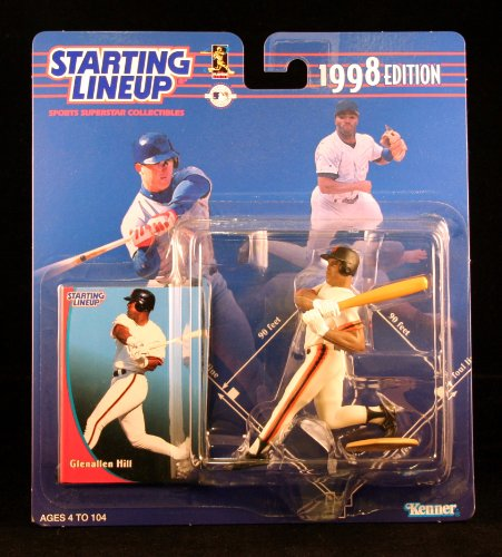 GLENALLEN HILL / SAN FRANCISCO GIANTS 1998 MLB Starting Lineup Action Figure & Exclusive Collector Trading Card