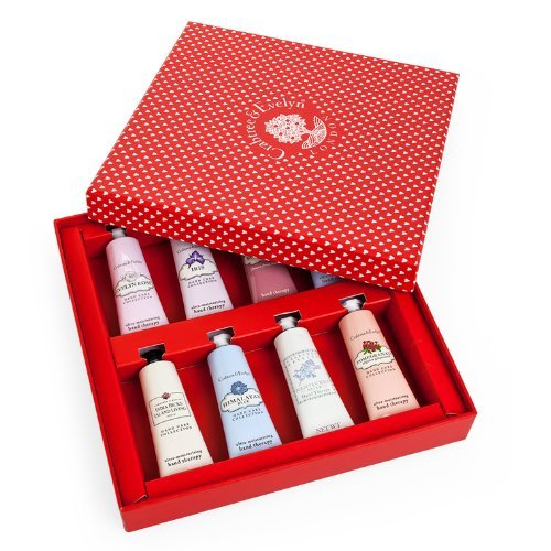 Sale alerts for  Crabtree & Evelyn Deluxe Hand Therapy Sampler Set of 8 Gift Box - Covvet
