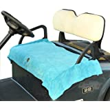 Cart Logic CL 31042 Cozi Cover Golf Cart Seat Blanket, Turquoise