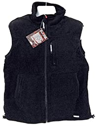Gerbing\'s Core Heated Fleece Vest Black, BLACK, LG