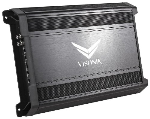 Visonik VK1600.1D 1600Watt Mono-Block Car Audio Class D Power Bass Amplifier With Butterworth Crossovers Car Stereo Systems