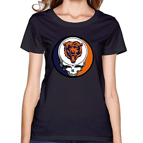Grateful Dead Bears Womens T-shirt Black (Walker Radiator compare prices)