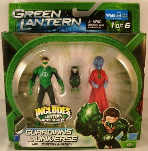 "Green Lantern Movie 3 3/4"" Guardians of the Universe Hal Jordan & Baris Action Figure 2-Pack Exclusive - 1"