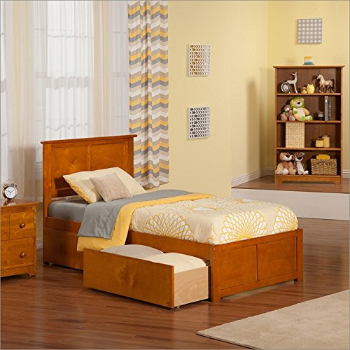 Queen Beds With Drawers 3417 front