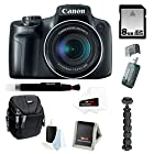Canon PowerShot SX50 HS 12.1 MP Digital Camera with 50x Optical IS Zoom with 8GB Accessory Bundle