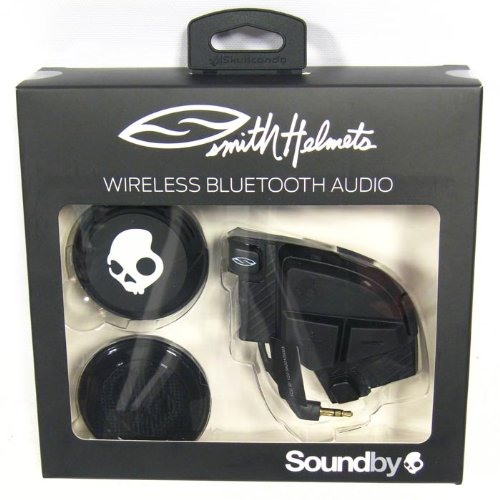 Smith Optics Skullcandy Bluetooth Drop In Universal Audio Kit Communication Head Set Accessories - Black