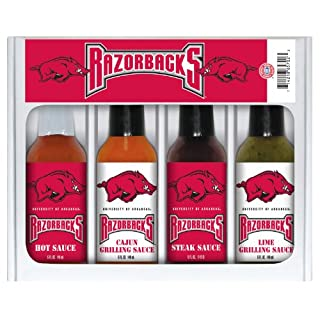 ARKANSAS Razorbacks Mini Grilling Set 4x5 oz
