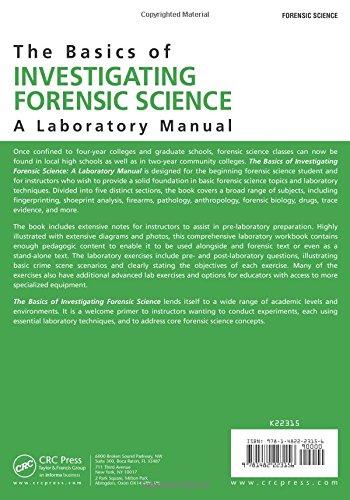 Forensic Science Lab Manual