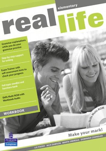 Real Life Global Elementary Workbook & Multi-ROM Pack