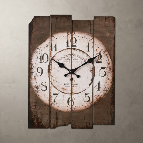 "LightInTheBox 15"" Country Style Vintage Wall Clock Home Decor Design Wall Clocks"