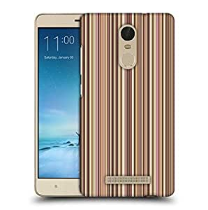 Snoogg Colorful Strips Printed Protective Phone Back Case Cover For Xiaomi Redmi Note 3