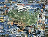 American Aviation Jigsaw Puzzle 1000pc