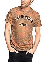 ESPRIT Camiseta Manga Corta (Naranja)