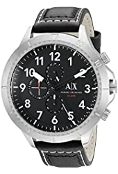 Armani Exchange Men's AX1754 Analog Display Analog Quartz Black Watch