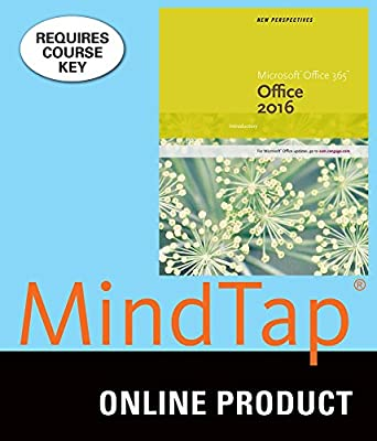 MindTap Computing for Carey/DesJardins/Shaffer/Shellman/Vodnik's New Perspectives Microsoft Office 365 & Office 2016: Introductory, 1st Edition