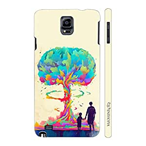 Enthopia Designer Hardshell Case Whats goes around is Evolution Back Cover for Samsung Galaxy Note 4