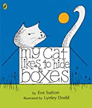 Books x 3 – My Cat likes to hide in boxes, There are cats in this book, Mog the forgetful cat